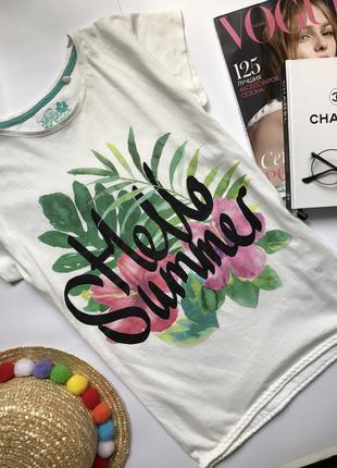 Літня футболка коттон футба хлопок для подростка