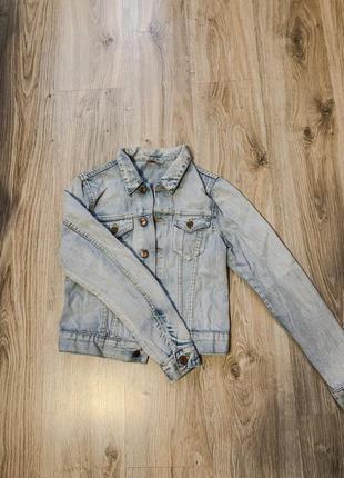 Джинсовая куртка hsm