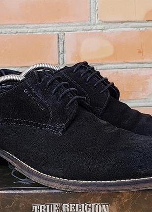 Hugo boss туфли замшевые oiled suede оригинал (43)