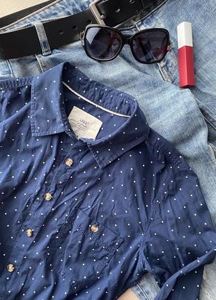 Рубашка 100% стиль + коттон