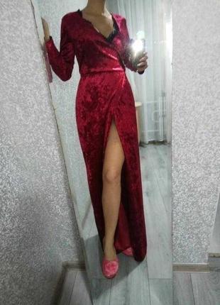 Платье длинное на вечер, новое!