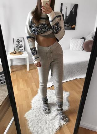 📎 вязаные штаны boohoo ❤️
