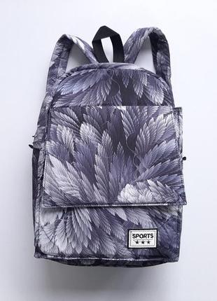 Рюкзак з принтом компактний sport