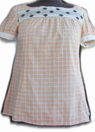 Блуза с вышивкой noa noa размер s