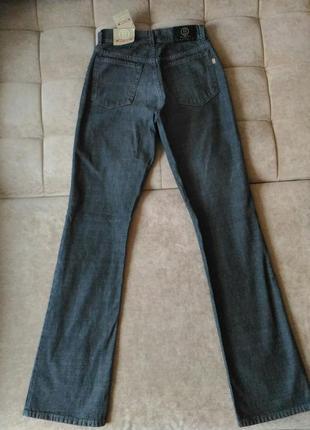 Джинсы basic jeans by bessi клёш w27 l34, высокий рост, высокая талия