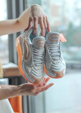 Air max 720, white/orange