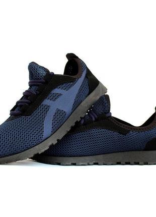 Кросівки літні чоловічі синього кольору (пр-3302с)