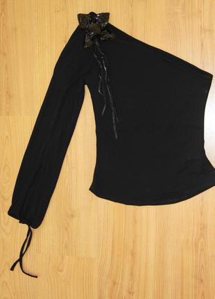 Ассиметричная блуза zara