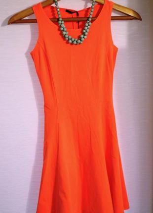 Бандажное стильное  платье