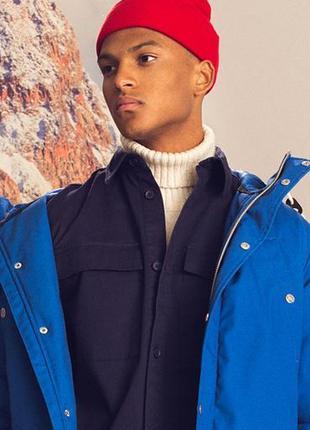 +очень красивая   куртка-парка насышенного синего цвета rvlt / revolution дания