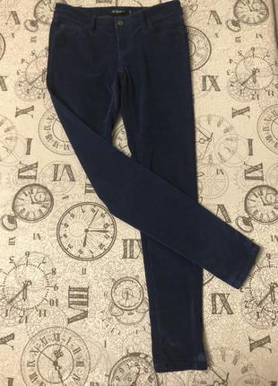 Велюровые брюки colins