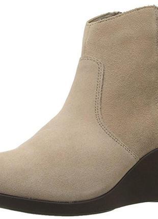 Ботиночки замшевые crocs 7.5mus стелька 26 см