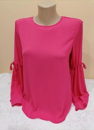 Малиновая блузка new look