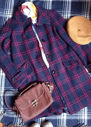 Дуже тепле пальто міді а-силуету регланного крою від h&m