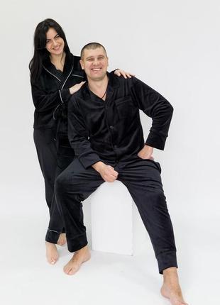 Пижама мужская велюр