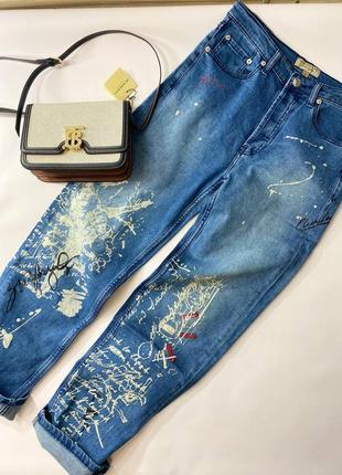 Фирменные женские джинсы