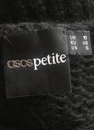 Мохеровый шерстяной чёрный свитерок от asos5 фото