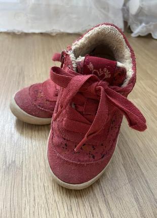 Утеплённые кроссовки, ботинки на меху