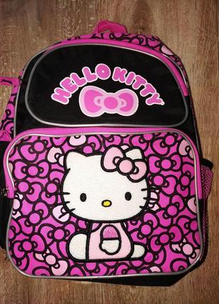 Рюкзак hello kitty. рюкзак для девочки.