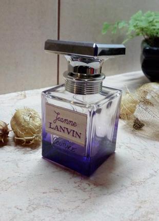 Jeanne lanvin, couture, оригинал, остаток 2 мл из 30 мл