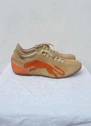 Кроссовки замшевые кожаные спортивные puma alexander van slobbe( италия)