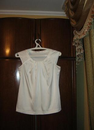 Блуза marks&spencer, 100% полиестер, размер 10
