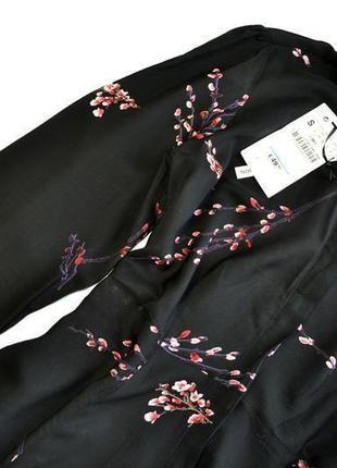 Zara woman premium collection платье макси в цветочный принт 100% вискоза