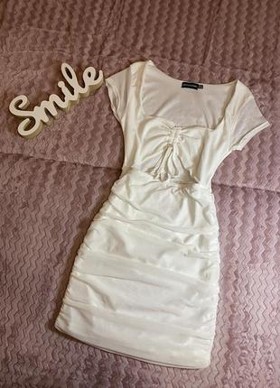 Нарядное белое платье 👗