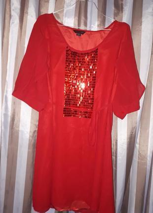 Шикарно платье с паетами. anna scholz