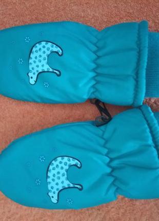 Краги рукавицы 3-4 года