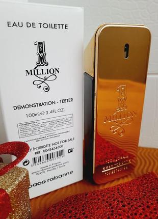 Тестер👑 paco rabanne 👑 milion 👑пако рабан100мл.