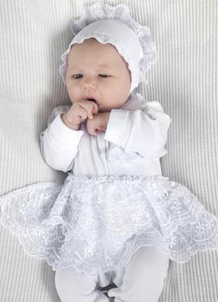 Набор на выписку из роддома для новорожденных (для девочки)