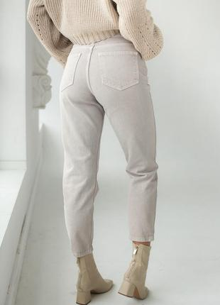 Котоновые джинсы мом❤