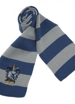 Шарф гарри поттер когтевран (синий с серым)