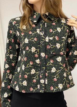 Стильная плотная рубашка topshop