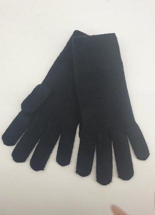 Теплые перчатки с кашемиром