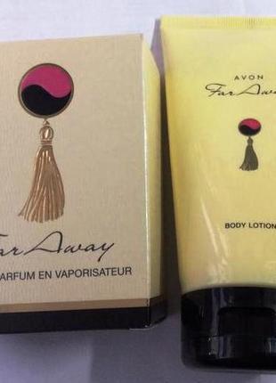 Набор far away: парфюмированная вода 30 мл и лосьон для тела 150 мл
