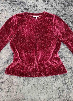 Велюровый свитерок.