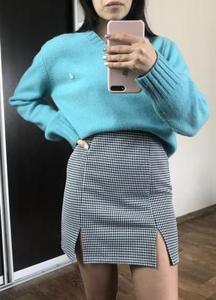 Яркий шерстяной свитер united colors of beneton