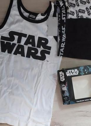 Комплект белья для мальчика, размер 122/128, бренд star wars