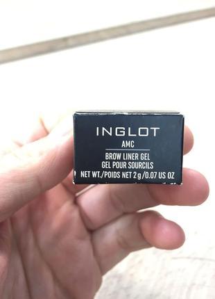 Помадка для бровей inglot brow liner 15