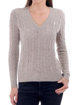 Шерстяной свитер от polo ralph lauren