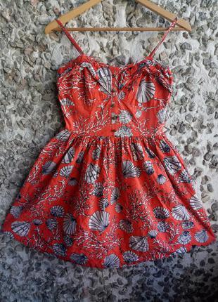 Красное платье atmosphere
