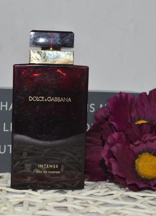 Парфюмированная вода dolce&gabbana pour femme intense оригинал 100 мл