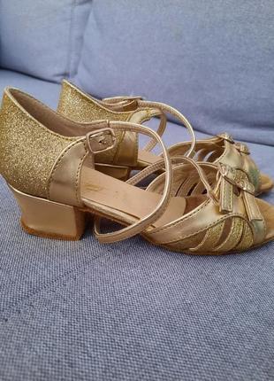 Туфлі для бальних танців стєлька 20,5