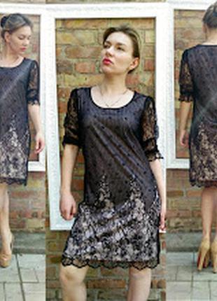 Платье bodyflirt кружевное