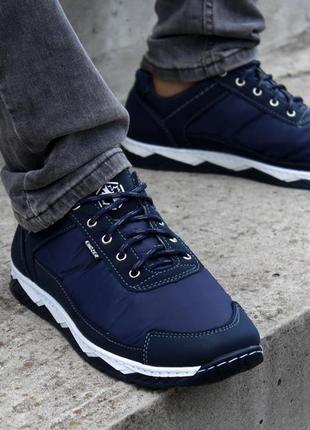 Кросівки чоловічі демісезонні сині (кф-16с-2)