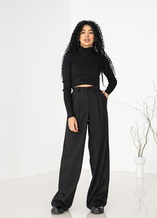 Шикарные брюки палаццо