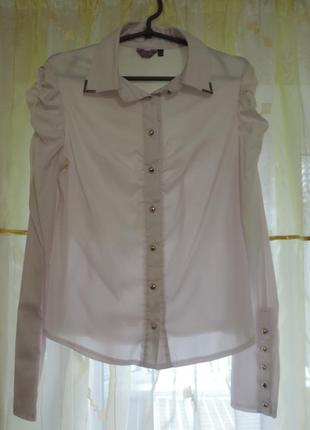 Белая блуза от glem