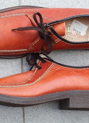 Крутые фирменные туфли. натур. кожа германия